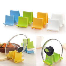 Pan Pot Cover Spoon Lid Rack Rest Stand Holder Kitchen Organization @ami
