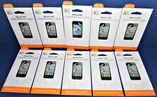 BRAND NEW LOT OF 10 Tech & Go! 2 Pack iPhone 4/4s Screen Protector