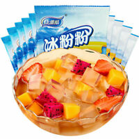 【Pack of 15】Jelly Powder Chinese Food Bingfenfen40g*15 康雅酷冰粉粉原味40克x15袋 US Seller