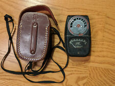 GE Exposure Meter Type DW-68 w/ leather case