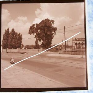 Orig. Negativ 6x6 cm Berlin Alt-Moabit/Washington-Platz Lehrter Bahnhof 1953 #2