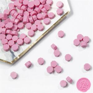 DIY 20Pc pink Retro Stamping Sealing Beads Wax Stamps Envelopes Party Invitation