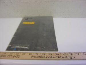 Classic Avaya Merlin Administration  Manual 206 410 w Feature Pkg 1  1984