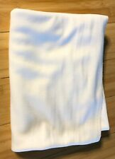 White Cotton Jersey Fabric by the yard