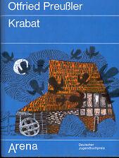 Otfried Preußler, Krabat, Arena Vlg., gebundene Ausgabe mit Schutzumschlag, 1980