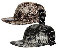 ITZU Co. Snakeskin 5 Panel Snapback Snake Skin Snap Back Cadet Hat Cap