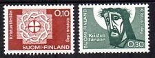 Finland - 1963 Lutherans gathering Mi. 573-74 MNH