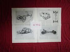 """N°10352 / OMNIA : """"projet d'etude pour la voiture S.I.A""""  par André Caputo  1935"""