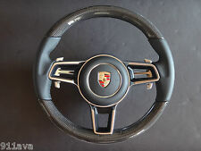 PORSCHE 991 GT3 RS  NEW STYLE C F STEERING WHEEL & AIR B FIT 991 S  4 2012 -15