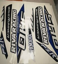 YAMAHA FZR SHO for 2009-2016 Graphics stickers decals kit jet ski set vinyl