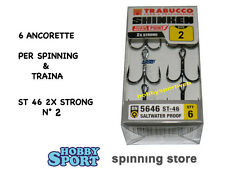 ANCORETTE OWNER TRABUCCO 5646  SERIE ST 46  N  2     CONF 6 PZ 2X STRONG