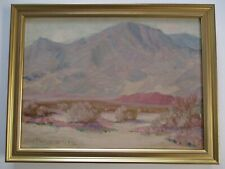 ANTIQUE PAINTING EARLY CALIFORNIA PLEIN AIR DESERT LANDSCAPE GEORGE FREDERICK