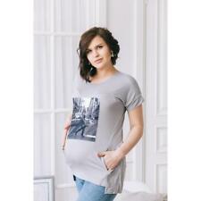 Schwangere Umstandsmode für Damen Stillen Top T-Shirt Bluse Größe 42