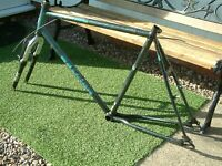 Vintage Raleigh  Activator MTB 23 inch Bicycle Frame - Handmade in England