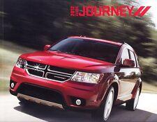 2012 Dodge Journey AVP SE SXT CREW R/T Deluxe Dealer Sales Brochure