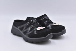Women's Skechers Easy Going - Repute Clog Sneakers, Black, 6M