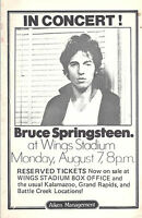 Bruce Springsteen Original 1975, Wings Stadium Handbill