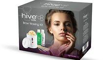 Hive Wax Brow Kit Eyebrow Face Set Waxing Petite Heater Warmer HOB5959