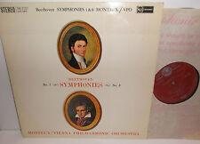 SB-2127 Beethoven Symphonies Nos. 1 & 2 Vienna Philharmonic Orch Monteux R/S