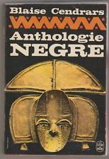 Anthologie nègre Blaise Cendrars