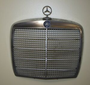 Mercedes-Benz front grill with star and badge used 1970's