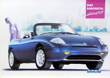 2001 FIAT BARCHETTA  NAXOS CATALOGUE BROCHURE