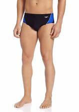 Speedo Endurance+ Launch Splice Brief Swimsuit Mens Size 30