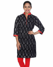 Paisley 3/4 Sleeve Tunic Hand-wash Only Tops & Blouses for Women