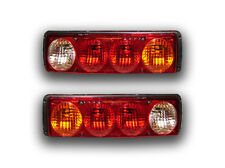 SET OF 2 REAR LIGHTS TAIL LAMPS 4 FUNCTIONS VOLVO SCANIA RENAULT IVECO MERCEDES