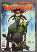 Inquest #18 October 1996 Guide to Collectible Card Games & Price Guide Mirage VG