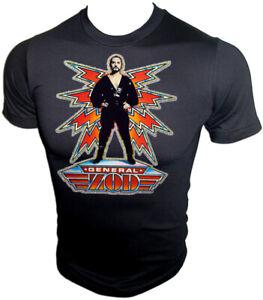 VTG 80s Superman Terrance Stamp General ZOD Christopher Reeve on UNUSED T-Shirt