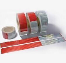 """Conspicuity Tape (Red & White) 11""""/ 7"""" Pattern 2"""" x 150'"""