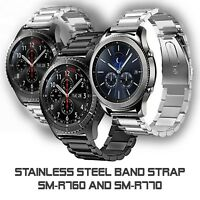 Stainless Steel Band Strap for Samsung Gear S3 and Galaxy Watch 46mm Smart Watch