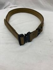Eagle Industries Operator Gun Belt Cobra Buckle V-Ring Coyote Large