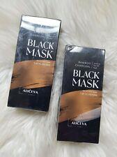 Bamboo Charcoal Black Mask Blackhead Remover 50g X 2 Brand New Sealed