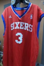 Adidas NBA Jersey Philadelphia 76ers Allen Iverson Red sz XL