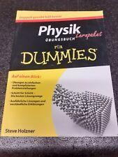 Physik für Dummies Übungsbuch Steve Holzner