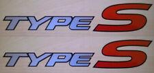 Honda Civic Type-S Side Panel Sticker Set Honda Type S Stickers Decals Graphics