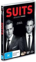 Suits : Season 3 (DVD, 4-Disc Set) NEW