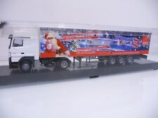AWM H0 1:87 Mercedes Actros V8 Koffer-Sattelzug GEL Express Weihnachten OVP TOP