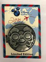 Disney DVC 2016 Compass Jiminy Cricket Hinged Pin  LE2500
