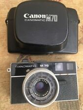 Canomatic M70 - Canon Lens 40mm 2.8 - 126 Film - Untested
