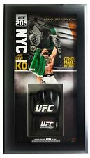 Conor McGregor Signed UFC MMA Glove Auto Double Champ Shadowbox LE Fanatics