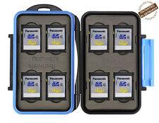 Flashwoife Turtle-SD8 V2 wasserdichte Speicherkarten Schutzbox für 8 Stück SDHC