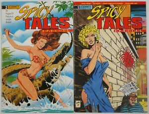 Spicy Tales Special #1-2 complete series - Jim Balent cover - good girl art set