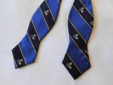 Polo Ralph Lauren Mens Bow Tie Blue Made in Italy 100% Silk Goodtreasures123