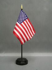 "72 Mini Usa American Stick Desk Flag 4"" x 6"""