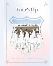 K-POP TOPSECRET 1st Mini Album - [Time's Up] CD + Photobook + Photocard Sealed