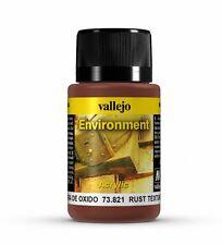 Vallejo Weathering Effects Rust Texture 73.821 - Acrylic 40ml