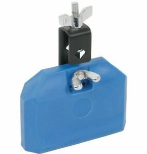 Chord Blue Drum Blocks With Mount Plastic Latin Percussion Musical Instrument